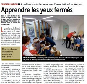 article La Montagne 21 novembre 2016